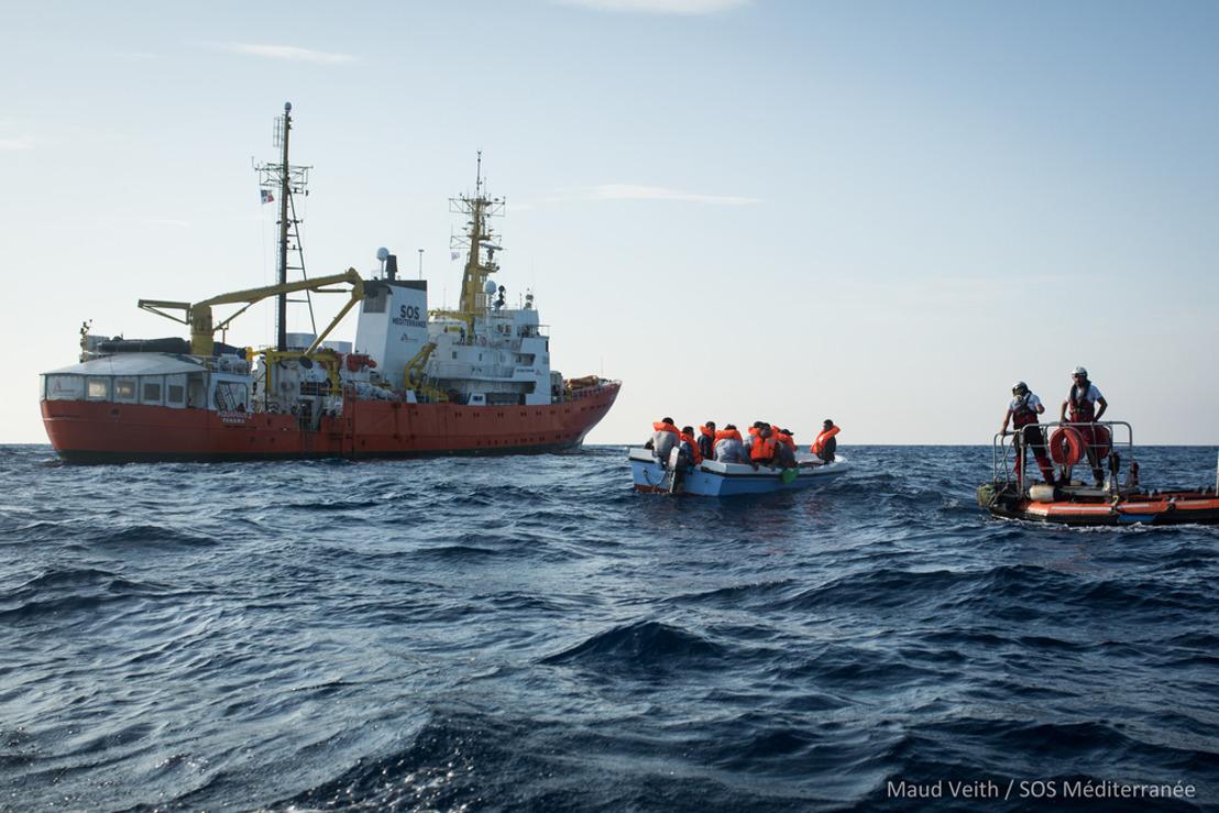 El Gobierno italiano presiona a Panamá para frenar los rescates del Aquarius en la ruta marítima más mortífera del mundo