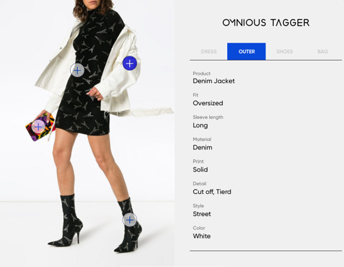 Experience the wonders that happen when AI tags fashion images