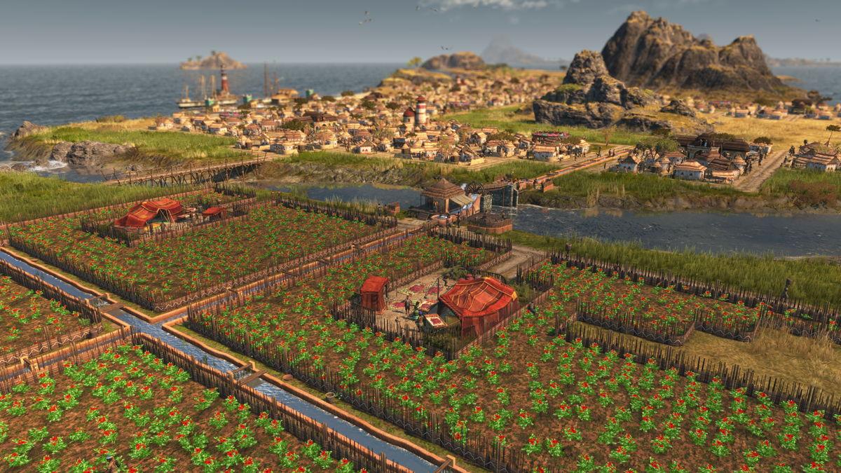 Die ariden Wetterbedingungen Enbesas bringen ein völlig neues Element in das Spiel: das Bewässerungssystem.