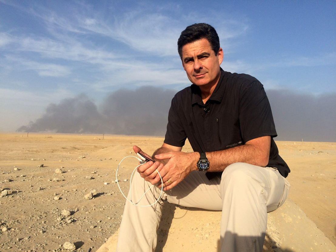 ABC's award winning Middle East correspondent, Matt Brown in Mosul