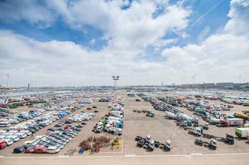 Port of Antwerp tightens regulations regarding byloads inside second-hand vehicles