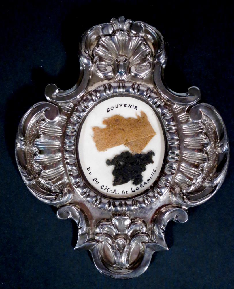Ceremoniële mantel van Karel van Lorreinen