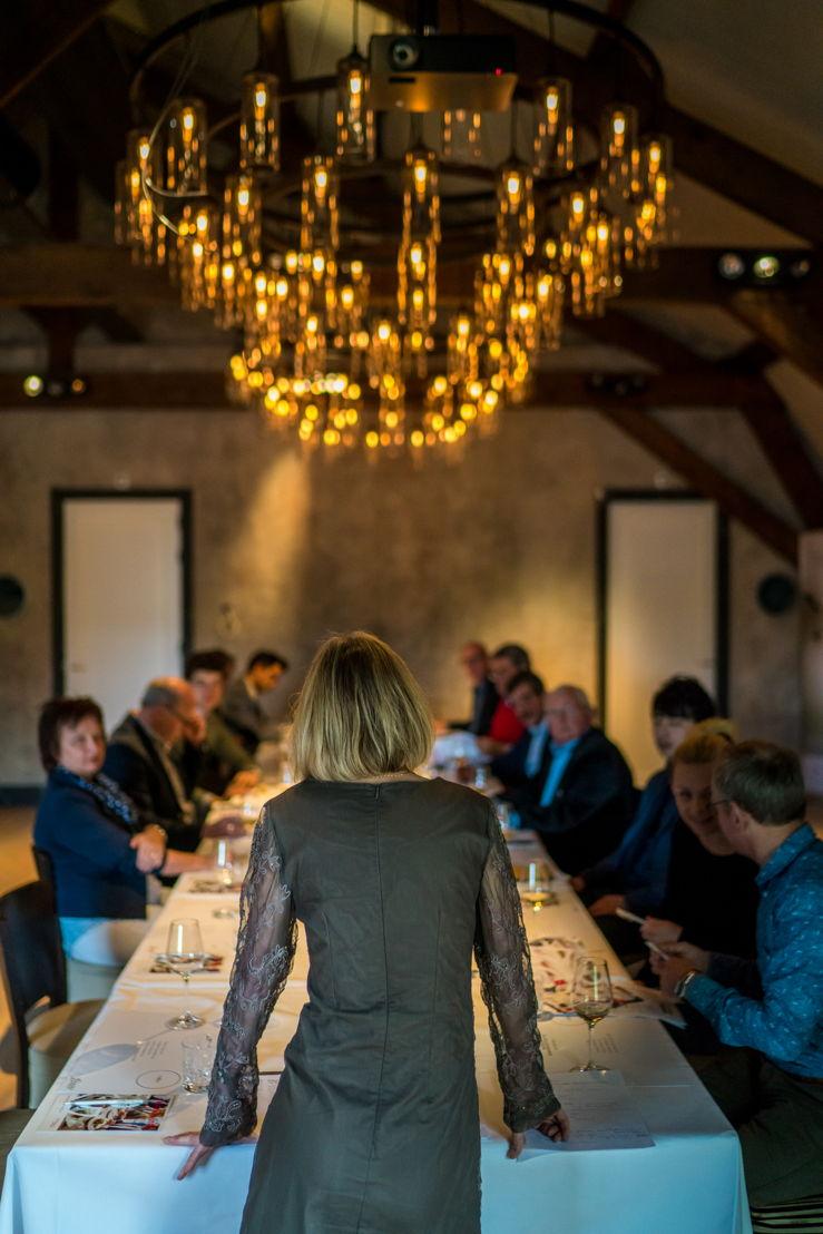 Presentatie over de toekomst van wijn