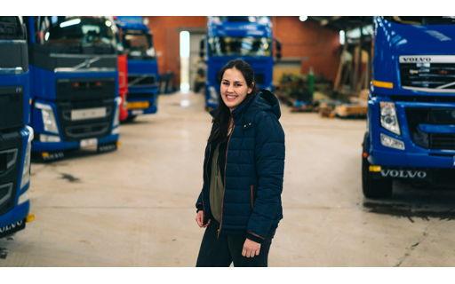 Astrid studeerde Logistiek Management en stapte daarna met al die extra bagage mee in het familiebedrijf