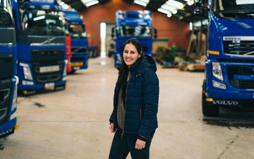 Astrid studeerde Logistiek Management aan Thomas More en stapte daarna met al die extra bagage mee in het familiebedrijf