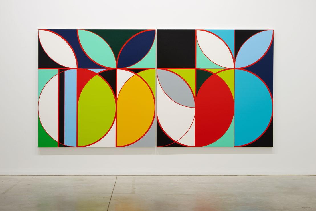 Sarah Morris. Eletrobas [Rio] (2013)<br/>Collection Kevin P. Mahaney<br/>(c) Dirk Pauwels