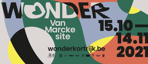Save the date: the second edition of the Kortrijk Creativity Festival WONDER takes place at the Van Marcke site from 15 October to 14 November