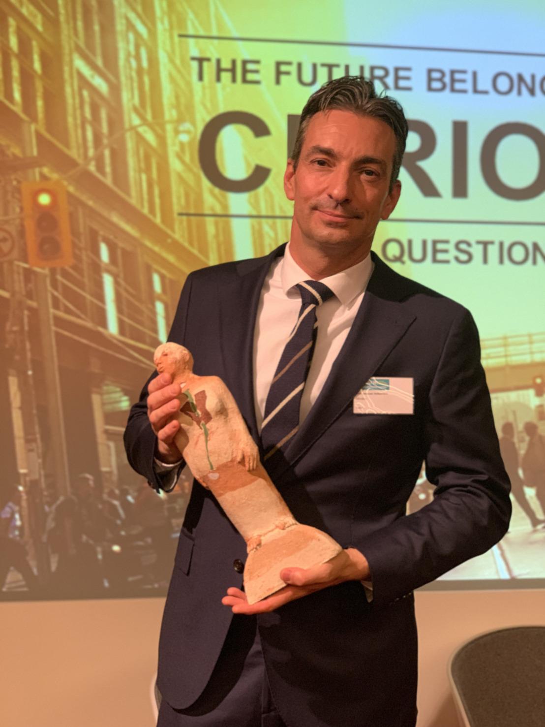 AB InBev feliciteert Jean-Jacques Velkeniers met Master Marketeer award