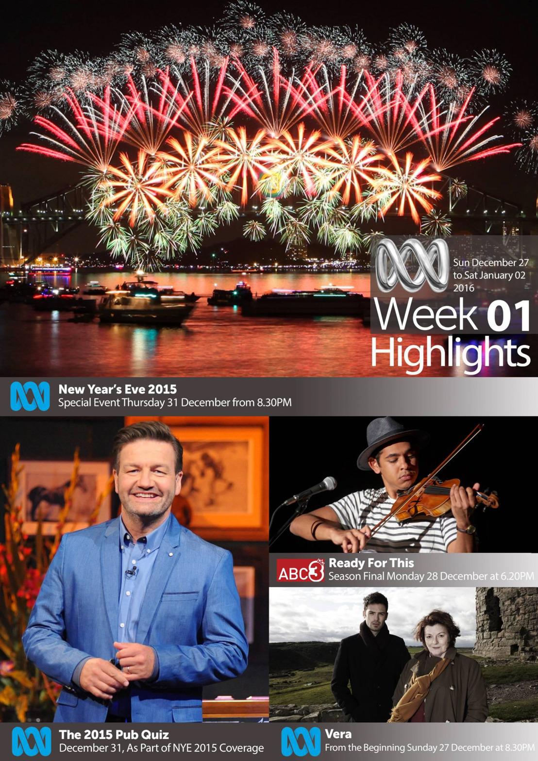 ABC TV Highlights - Week 1