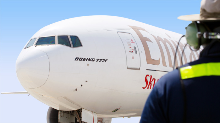 Close to 10,000 tonnes of Irish exports transported by Emirates SkyCargo in 2018