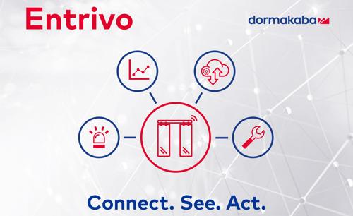 """""""Entrivo"""" von dormakaba – IoT-Services für automatische Türantriebe"""