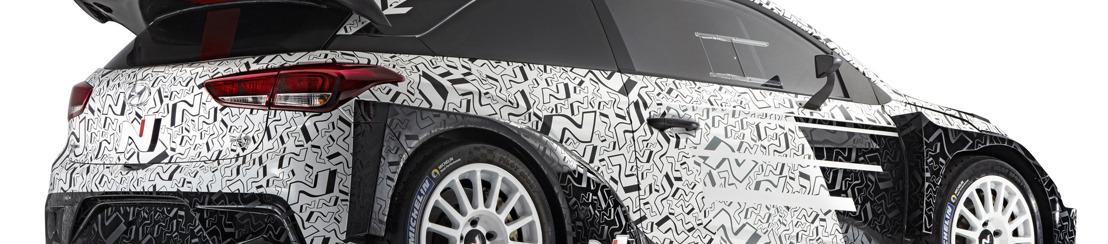 Hyundai Motorsport previews 2017 WRC Challenger at Paris Motor Show