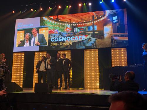 Cosmocafe wint Best Bar Concept