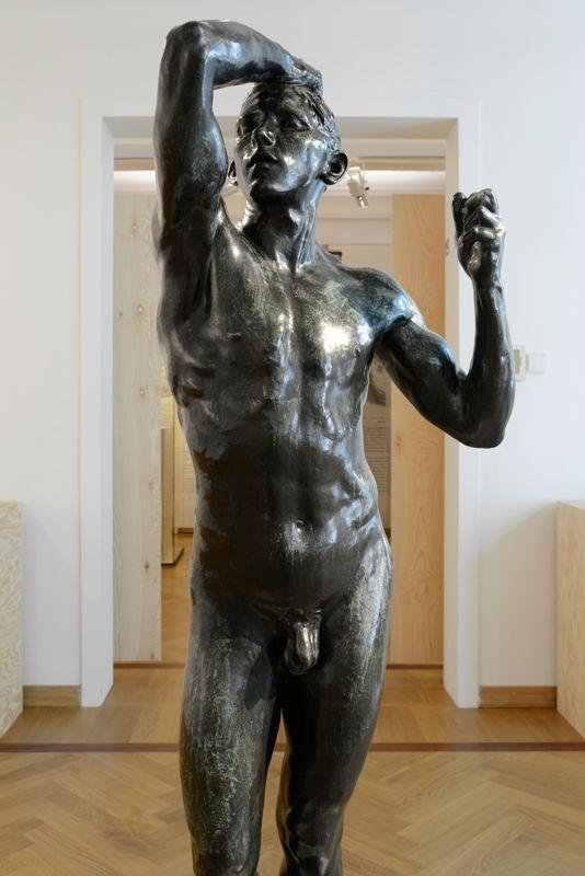 Auguste Rodin, Het Bronzen Tijdperk (L'âge d'airain), Brons, 1876 (c) Isabelle Arthuis