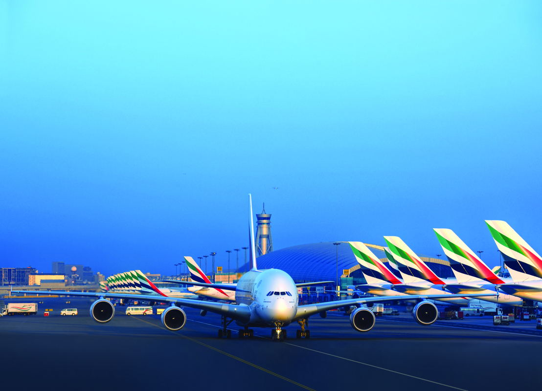طيران الإمارات أطلقت خدمات جديدة إلى 6 محطات وزادت السعة إلى عدد كبير من المحطات القائمة عبر شبكة خطوطها العالمية خلال السنة المالية 2016/ 2017.