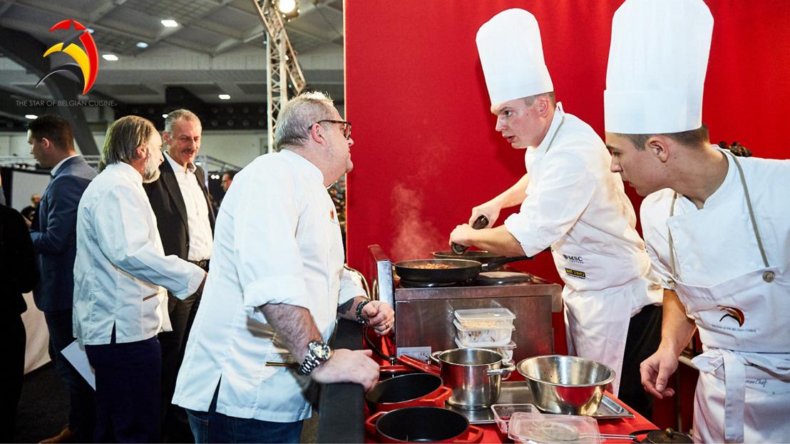 Mise à jour : le concours « L'étoile de la cuisine belge » est reporté