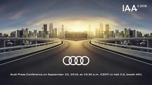 Audi au Salon de l'Automobile de Francfort 2019