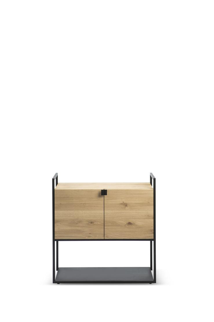 Ethnicraft Oak Cell Unit sideboard