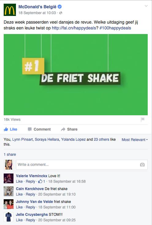 Storypost Frietshake