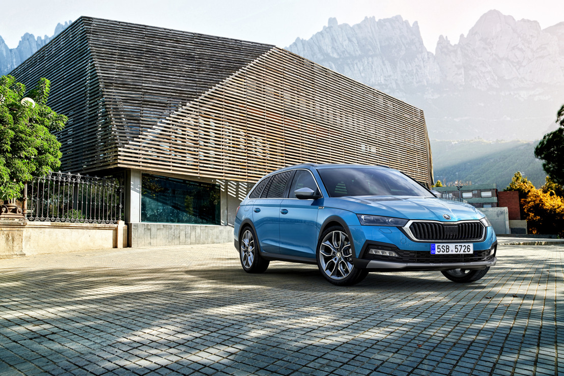 Lifestyle estate in its 3rd generation: The new ŠKODA OCTAVIA SCOUT