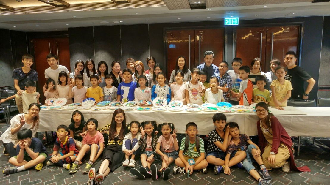 Hong Kong community initiatives - Art Workshop