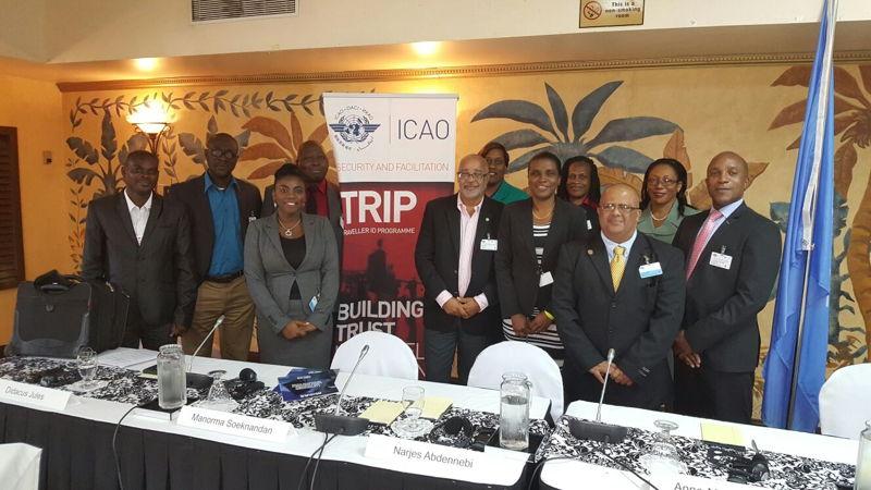 OECS represented at ICAO Regional Meeting in St. John's, Antigua and Barbuda.