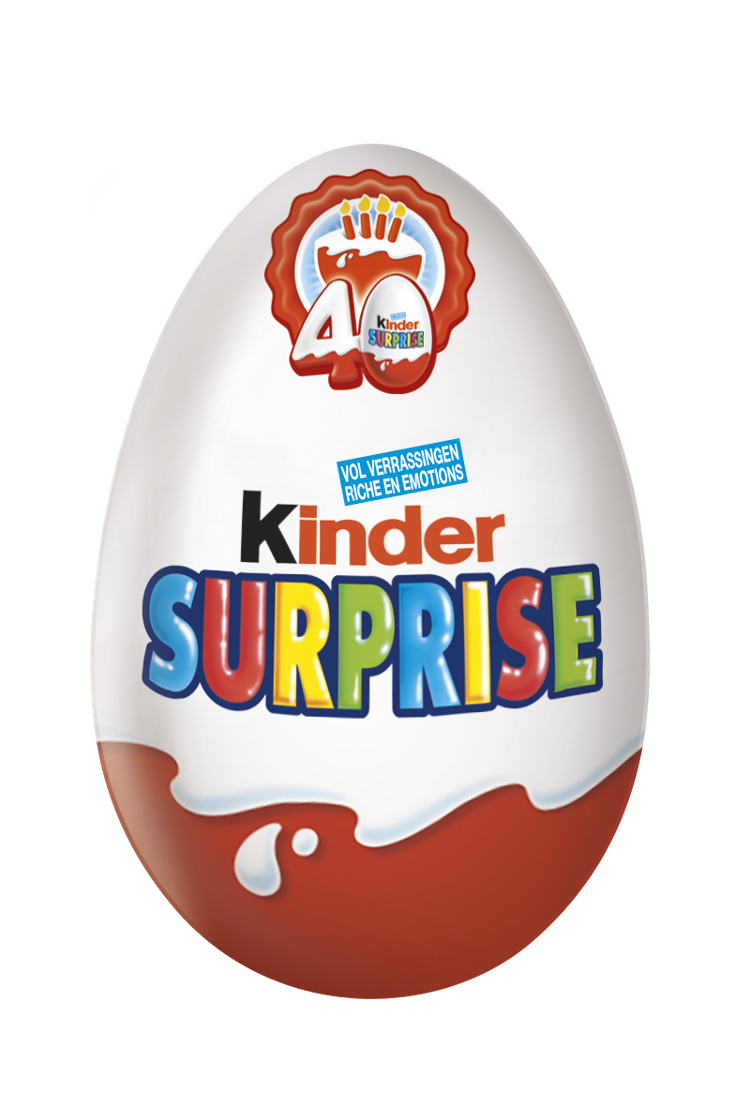 Kinder Surprise 40 ans