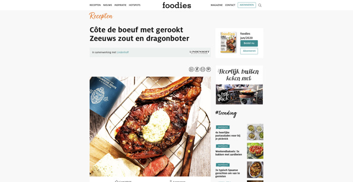 Zeeuwsche Zoute in Foodies Magazine