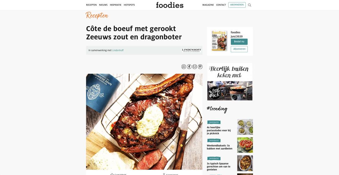 Zeeuwsche Zoute in Foodies Magazine