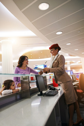 Emirates advises customers to arrive early to airport during busy holiday travel season