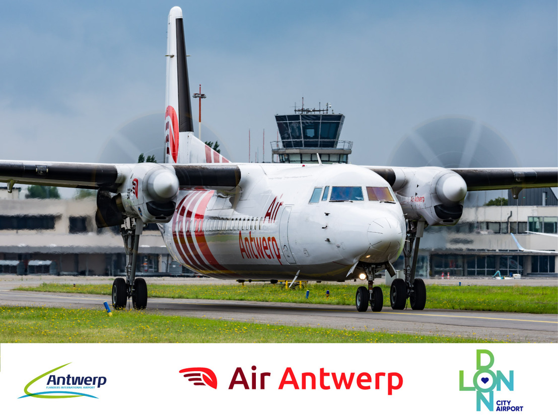 Air Antwerp Takes Off with the Fastest Direct Air Link between London City and Antwerp