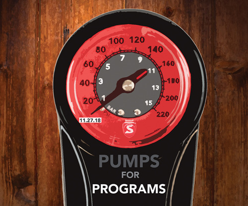 Silca #Pumps4Programs - Giving Tuesday Donation to Support Bicycle Co-Ops, Non-Profits and Development Programs.