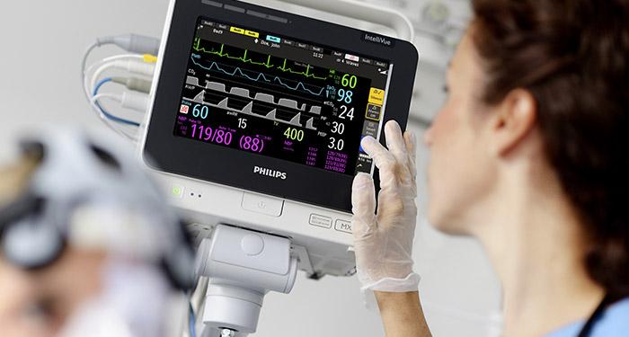 Intellivue Guardian maakt Early Warning Score sturend in patiëntopvolging.