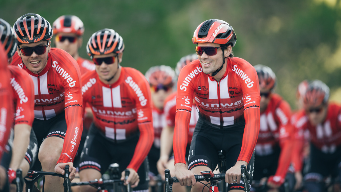 Reveal new look Team Sunweb for 2019