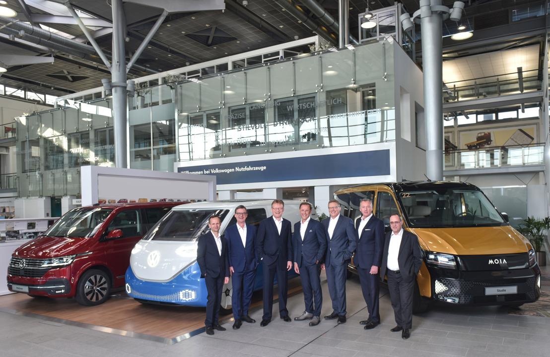 Volkswagen Bedrijfsvoertuigen investeert in 2019 meer dan 1,8 miljard euro in de toekomst van het merk