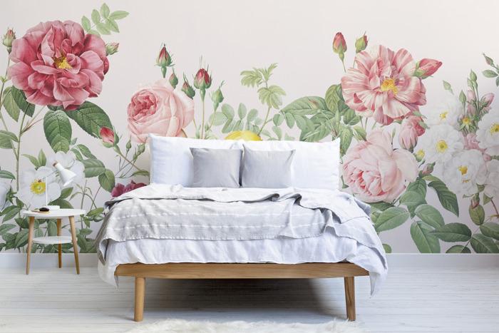 Preview: La casa en flor con la colección Vintage Floral de MuralsWallpaper