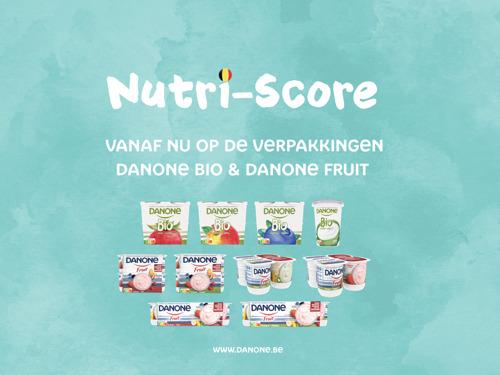 Preview: Eerste Danone-verpakkingen met Nutri-Score al vanaf april in de winkelrekken.