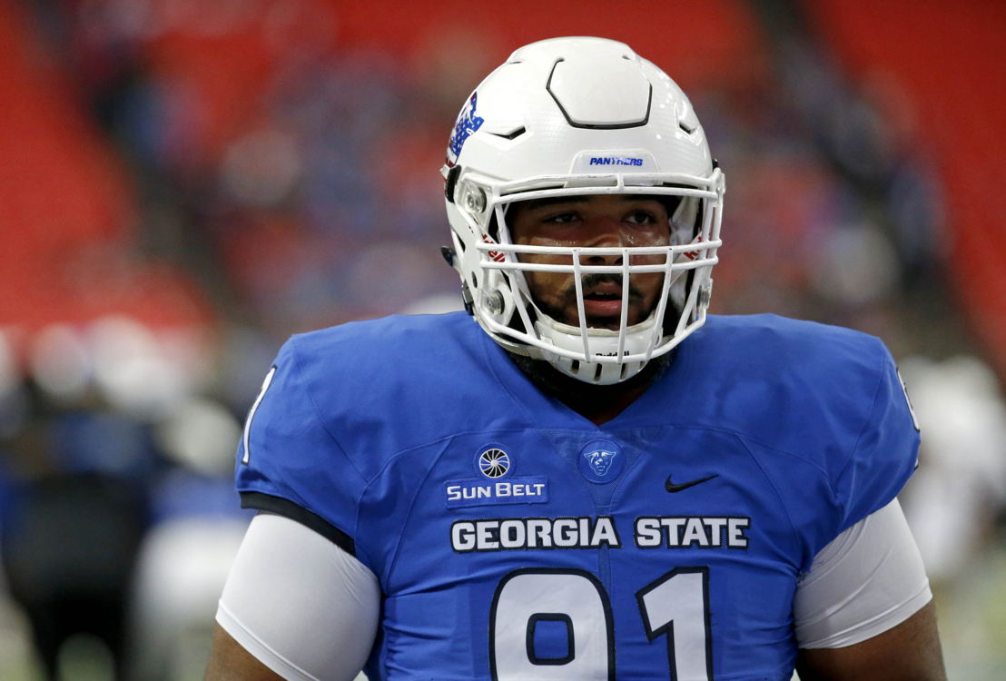 No. 5 DL Julien Laurent Georgia State (Photo Credit: Georgia State)