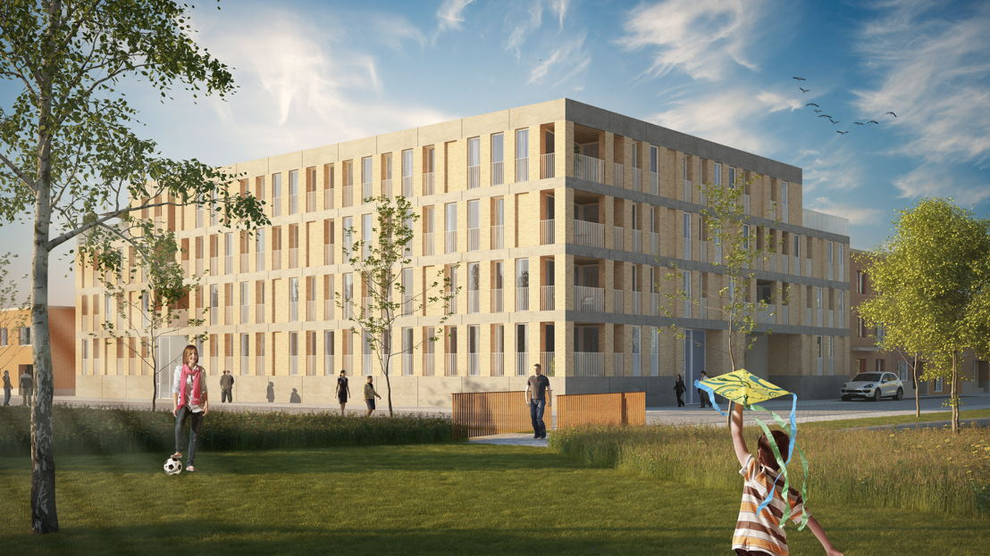 Durabrik Gent Hogeweg - nieuwbouwproject Zeemanstuin