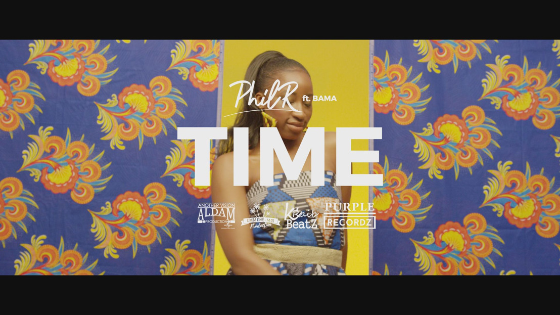 "PHIL R : Nouveau single ""Time"" ft Bama, disponible maintenant !"