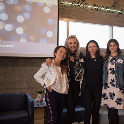 Sandra Rincón | Gina Diez Barroso | Laura Manzo | Maribel Quiroga | Vivian Barón