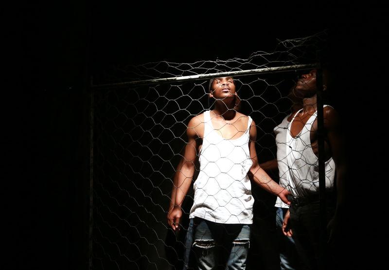 Ubuze Bam at the Cape Town Fringe 2016 - pic Nardus Engelbrecht