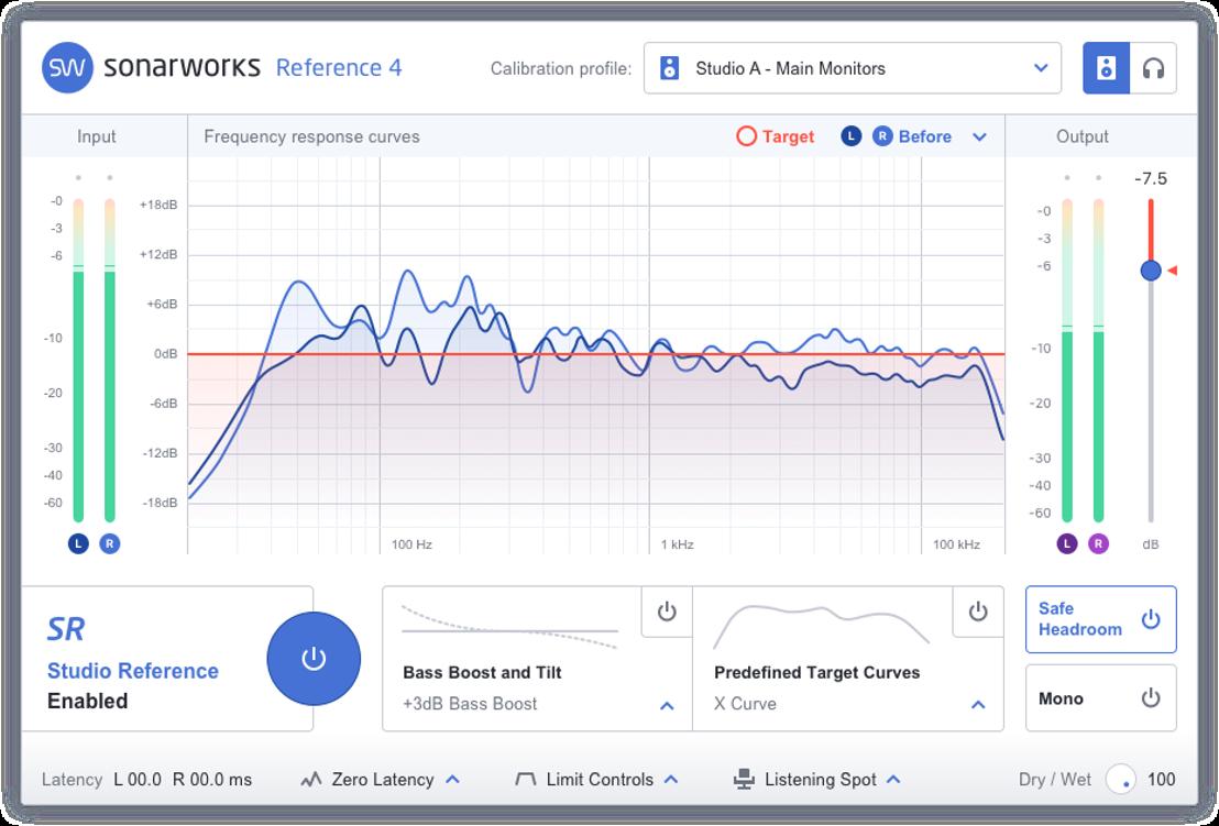 "Confidence in Sound: Sonarworks Establishes a new Studio Reference Sound Standard ""Sonarworks SR"" for Speakers and Headphones"