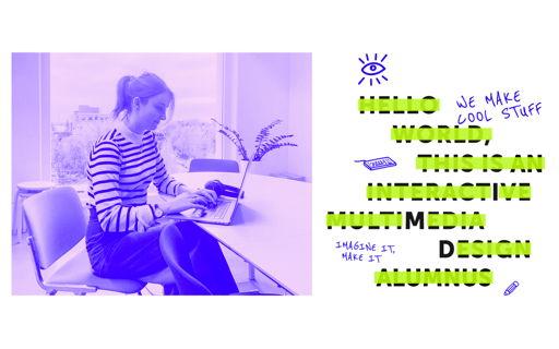 Helena, UI designer en IMD alumnus, neemt je een dag mee op haar job