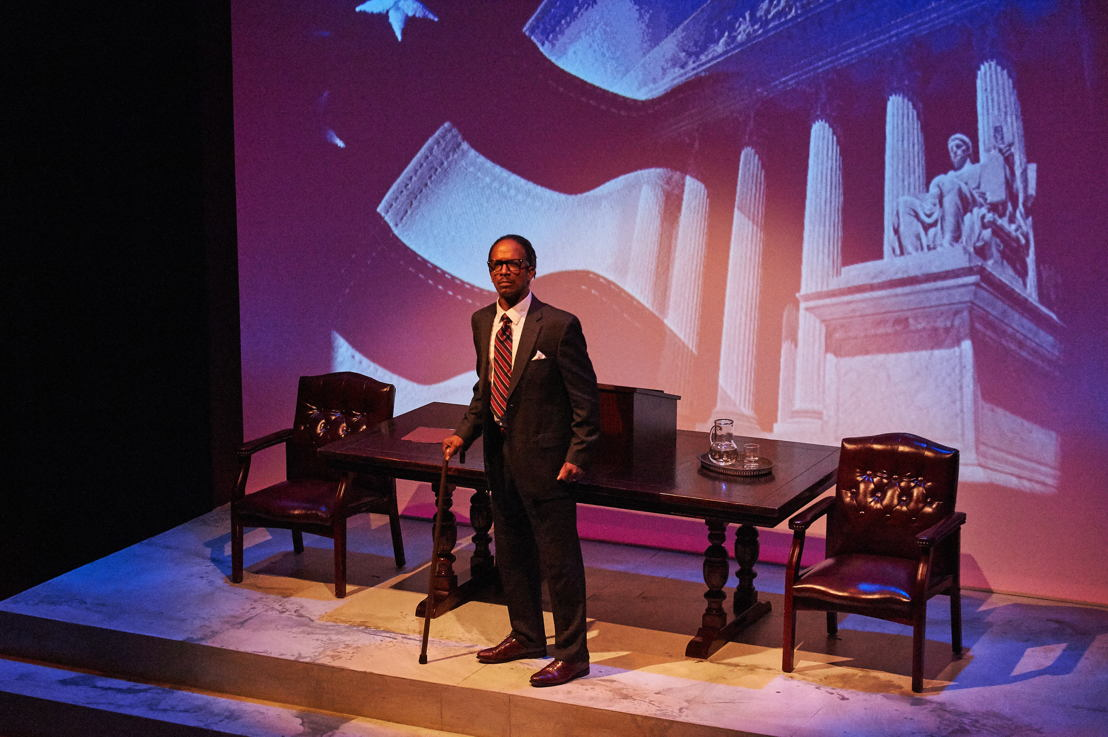 1. Geoffrey D. Williams in THURGOOD (photo credit: Christopher Bartelski)