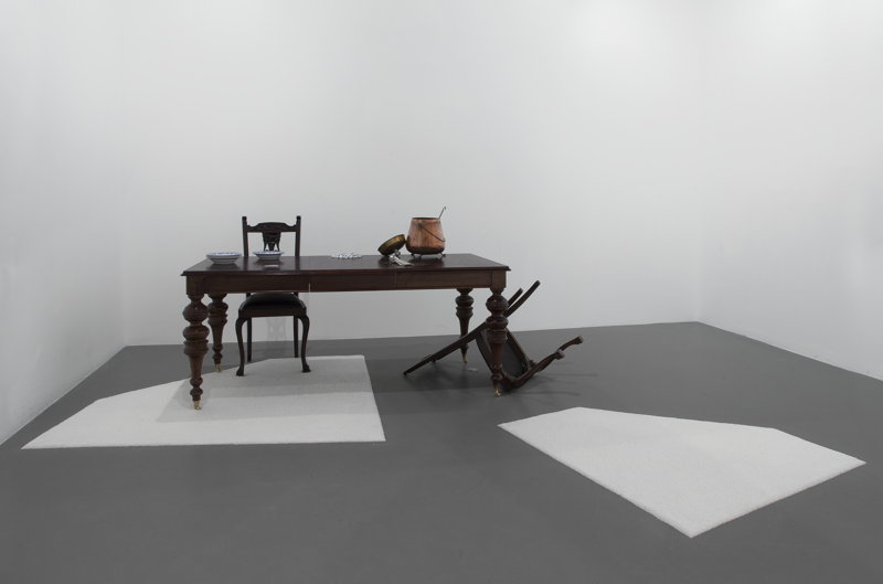 Grace Schwindt - Opera and Steel - 24>25/03 © A Still Life, 14th Istanbul Biennial, 2015. Courtesy the artist and Zeno X Gallery, Antwerp.