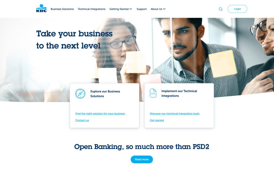 KBC renouvelle son Developer Portal et élargit considérablement les possibilités pour les partenaires et leurs clients.