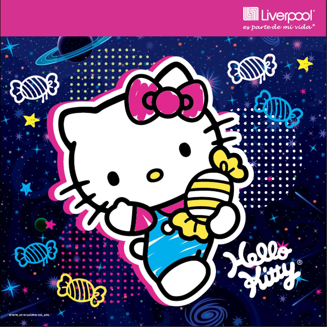 ¡Participación especial de Hello Kitty en Bolotown de Liverpool!