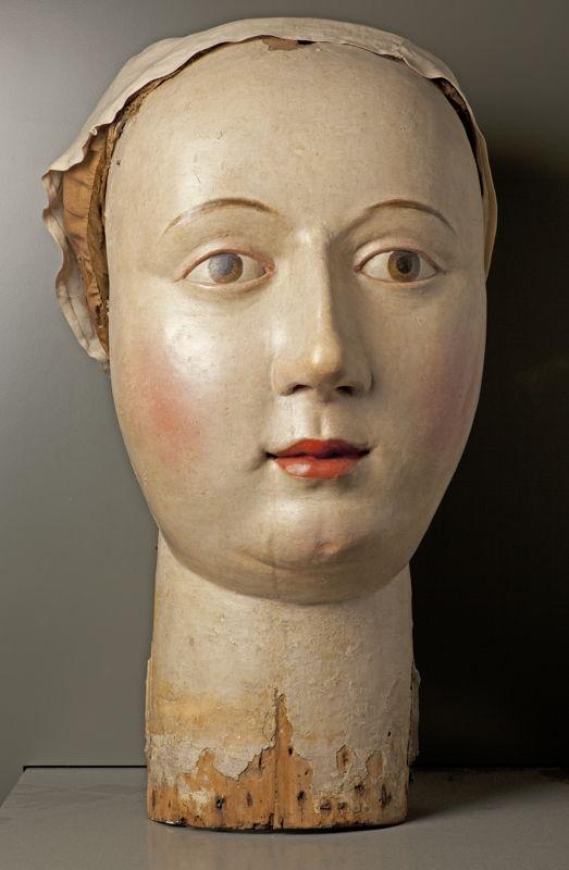 Tête de la géante Megera, Louvain (?), XVIIième siècle (?) © M - Museum Leuven, foto Paul Laes