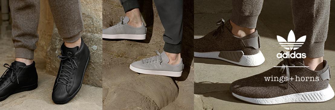 No te pierdas la segunda edición de la colaboración entre adidas Originals y wings+horns